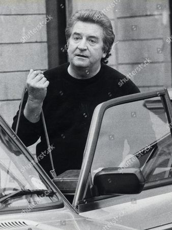 Actor Peter Adamson Pictured Leaving Rawtenstall Police Station. He Was Charged With Indecent Assault.