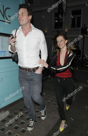 Leah Wood and husband Jack MacDonald