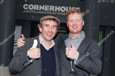 Steve Coogan and writer Matt Greenhalgh