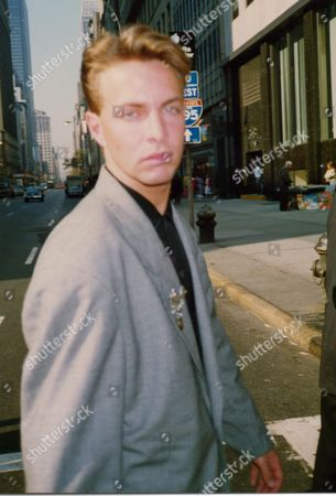 Lead singer Clark Datchler in New York in 1988