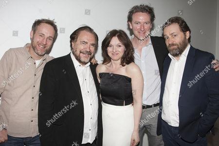 Peter McDonald, Brian Cox, Dervla Kirwan, Risteard Cooper and Ardal O'Hanlon