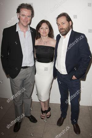 Risteard Cooper, Dervla Kirwan and Ardal O'Hanlon