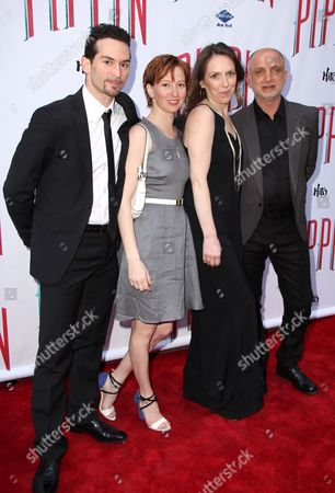 Editorial photo of 'Pippin' the musical opening night, New York, America - 25 Apr 2013