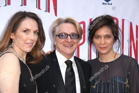 Gypsy Snider, Chet Walker and Diane Paulus