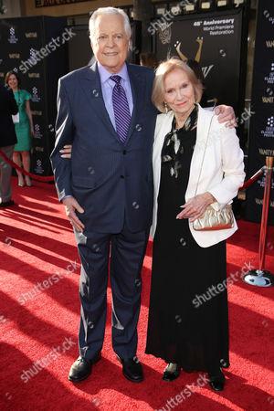 Robert Osborne and Eva Marie Saint