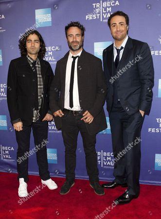 Adrian Grenier, Matthew Cooke and Bert Marcus