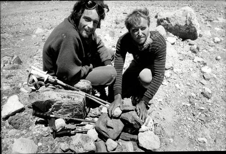 1988 Mail On Sunday Yeti Expedition In Tibet Lead By Mountaineer Chris Bonington In Search Of The Yeti Pictured Alan Hinkes (right).
