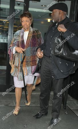 Cissy Houston and friend