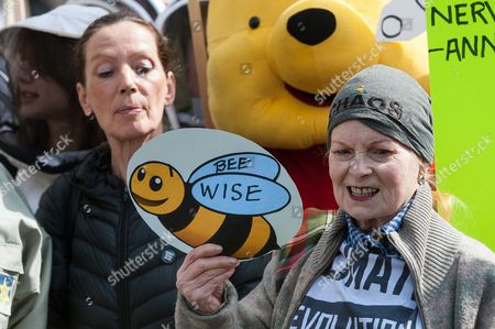Katharine Hamnett and Dame Vivienne Westwood