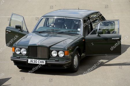 A 1991 Bentley Turbo RL once owned by Prince Charles