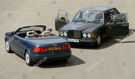 Editorial photo of Coys auction of cars previously owned by Prince Charles and Princess Diana, Ascot Racecourse, Berkshire, Britain - 26 Apr 2013