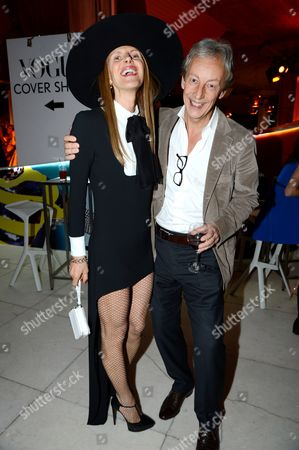 Editorial picture of Vogue Festival 2013 opening party, London, Britain - 27 Apr 2013