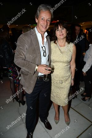 Stock Image of Perry Oosting and Alexandra Shulman