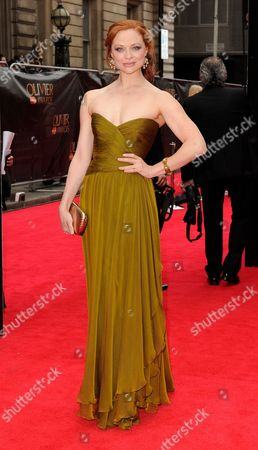 Editorial picture of Olivier Awards, Arrivals, Royal Opera House, London, Britain - 28 Apr 2013