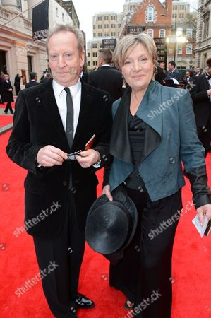 Stock Picture of Bill Paterson and Hildegard Bechtler