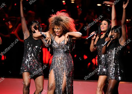 Stock Picture of Emi Wokoma (As Tina Turner in Soul Sister)