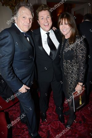 Guest, Michael Ball and Cathy McGowan