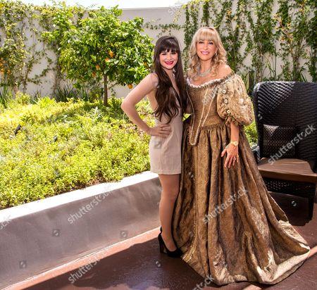 Stock Photo of Princess Marine and Princess SophieAudouin-Mamikonian