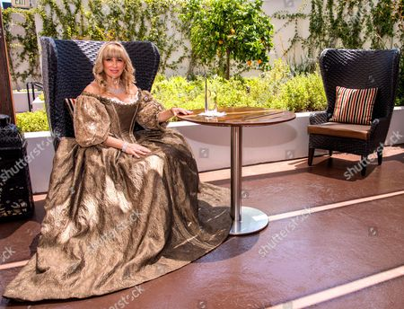 Editorial image of Author, Princess SophieAudouin-Mamikonian at the Sofitel Los Angeles, America - 25 Apr 2013