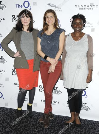 Alice Lowe, Lake Bell and Destiny Ekaragha