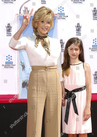 Jane Fonda and Viva Vadim
