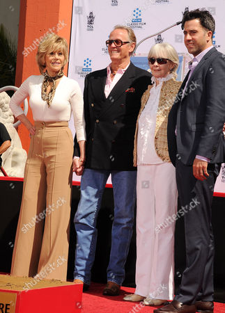 Stock Image of Jane Fonda, Peter Fonda, Shirlee Mae Adams, Troy Garity