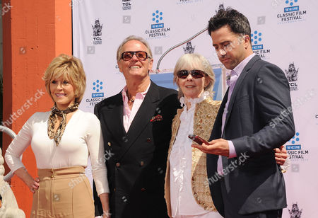 Jane Fonda, Peter Fonda, Shirlee Mae Adams, Troy Garity