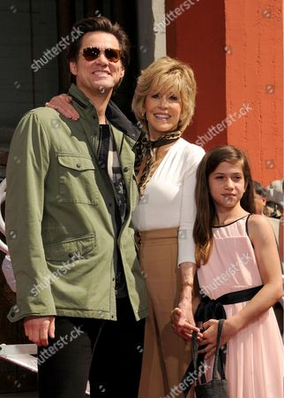 Jim Carrey, Jane Fonda, Viva Vadim