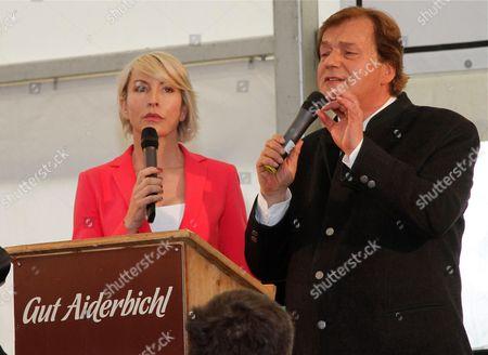 Heather Mills, Michael Aufhauser