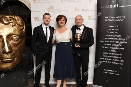 Stock Photo of Russell Tovey, Sara Putt and Tim Whitnall
