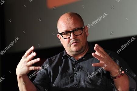 Stock Photo of Birger Larsen talks at the Celtic Media Festival