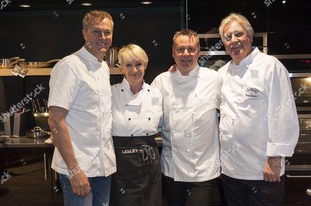 Nick Nairn, Lesley Waters, Tony Tobin and Brian Turner