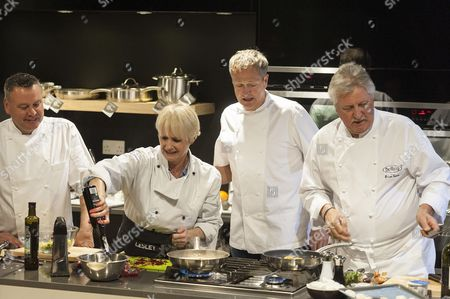 Editorial photo of Launch of 'Ready Steady Cook Live', Waitrose Cookery School, London, Britain - 29 Apr 2013