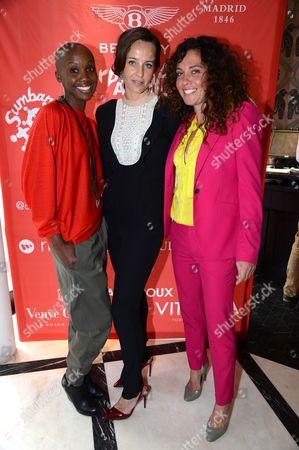Tiffany Persons, Julie Brangstrup and Tara Smith
