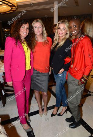 Tara Smith, Stephanie Dorrance and Tiffany Persons