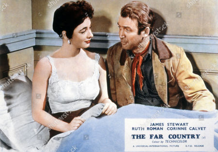 THE FAR COUNTRY (1955) Ruth Roman, James Stewart