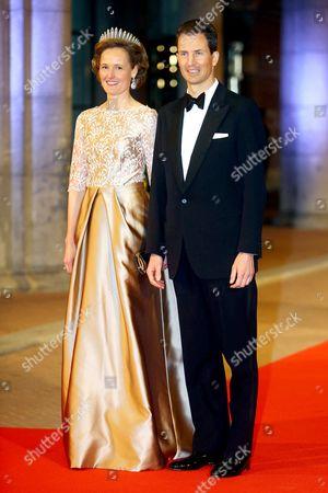 Princess Sophie of Isenburg and Crown Prince Alois of Liechtenstein