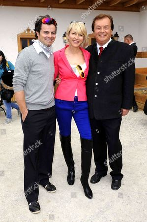 Stephan Goergl, Heather Mills and Michael Aufhauser