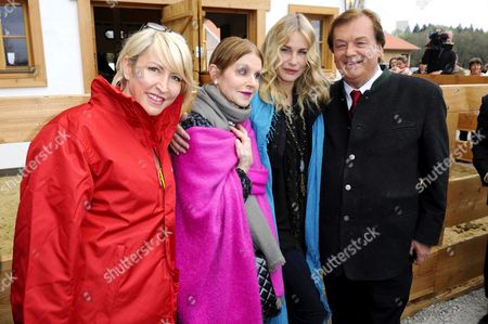 Heather Mills, Beatrice Buechler, Daryl Hannah and Michael Aufhauser