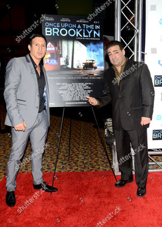 Stock Image of William DeMeo and Paul Borghese