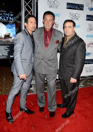 Stock Photo of William DeMeo, Tony Darrow and Paul Borghese
