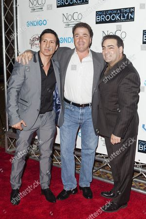 William DeMeo, Michael Rispoli and Paul Borghese
