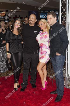 Elizabeth Vashisht, Ice T, Nicole Coco Austin, Tom Murro