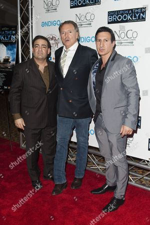 Stock Picture of William DeMeo, Armand Assante and Paul Borghese