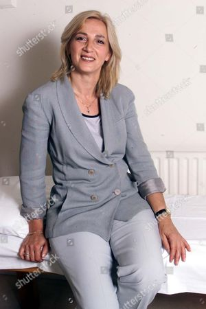 Stock Image of Spiritual Healer Seka Nikolic From The Hale Clinic London Who Treated Prince Andrew.