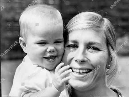 Athlete Mary Rand With Her Daughter Samantha.