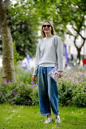 Victoria Sekrier, model, stylist