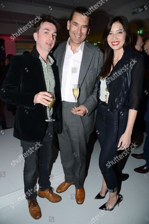 Editorial image of Conde Nast College of Fashion & Design opening party, London, Britain - 30 Apr 2013