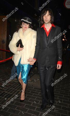 Katy England and Bobby Gillespie