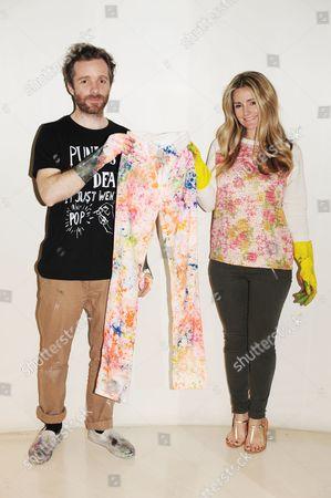 Stock Picture of Donna Ida and Simeon Farrar